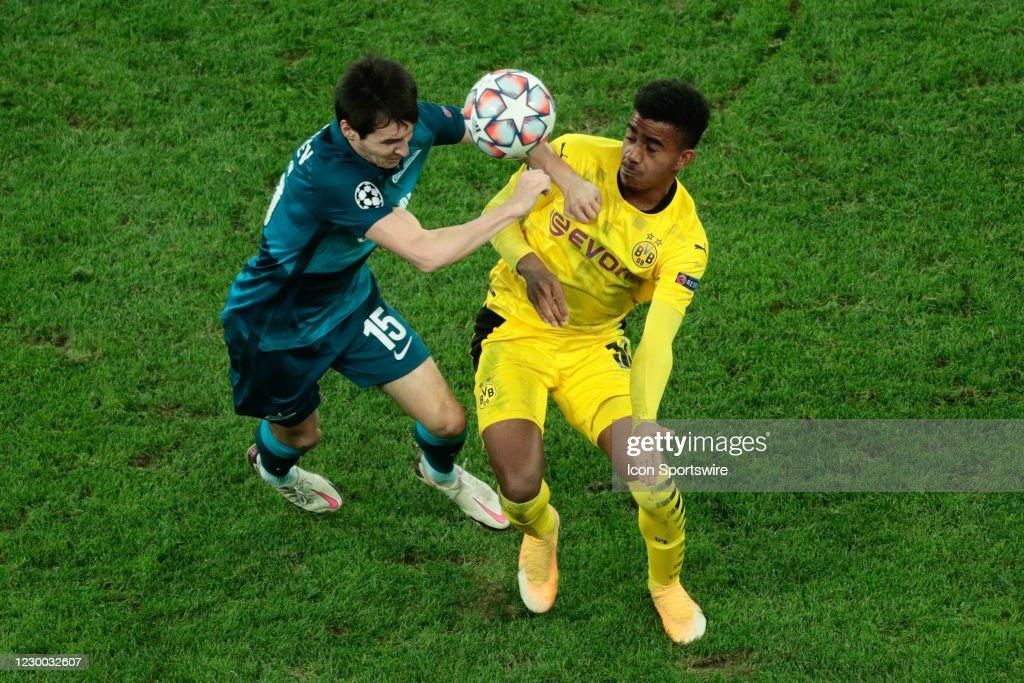 SOCCER: DEC 08 UEFA Champions League - Borussia Dortmund v FC Zenit : News Photo