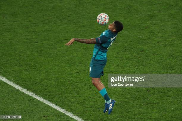 Midfielder Wilmar Barrios of FC Zenit during UEFA Champions League match Group stage, Group F FC Zenit v FC Brugge on October 20, 2020 at Gazprom...
