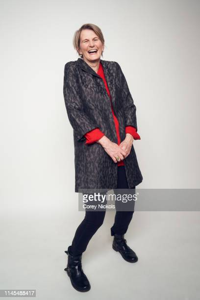 Midge Costin of the film 'Making Waves The Art of Cinematic Sound' poses for a portrait during the 2019 Tribeca Film Festival at Spring Studio on...