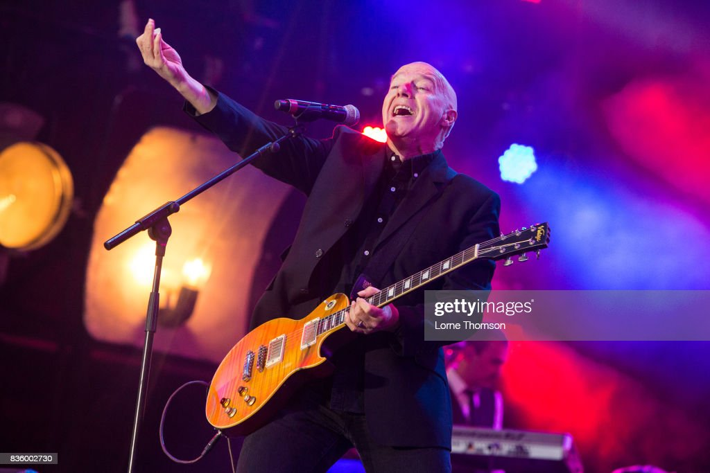 Midge Ure performs at Rewind Festival on August 20, 2017 in Henley-on-Thames, England.