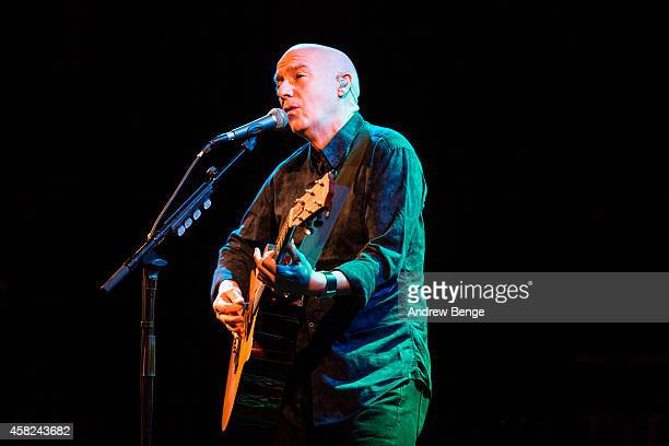 Midge Ure performs on stage at Holmfirth Picturedrome on November 1 2014 in Holmfirth United Kingdom