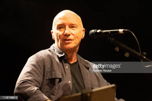 Midge Ure performs onstage at The Queen's Hall on March 10, 2019 in Edinburgh, Scotland.