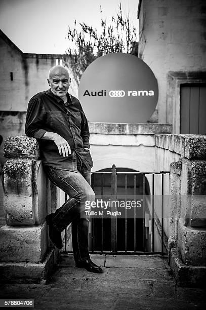 Midge Ure poses during Locus Festival 2016 on July 17 2016 in Locorotondo near Bari Italy