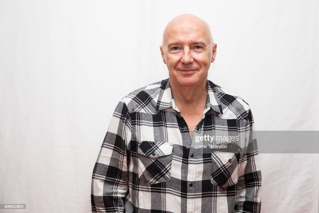 Midge Ure poses for photographers at Rewind Festival on August 20, 2017 in Henley-on-Thames, England.