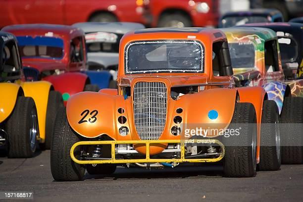 midget race cars - midget stock pictures, royalty-free photos & images