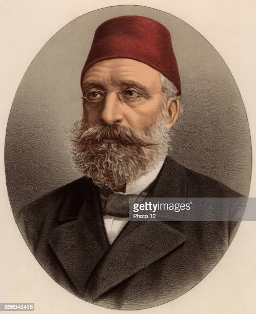 Midhat Pasha Turkish politician governor of Bulgaria In 1876 he led the revolution deposing the tyrant AbdalAziz In 1883 he was charged with the...