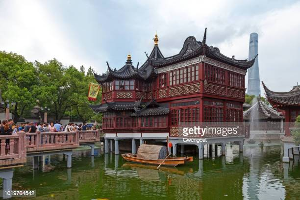 Mid-lake Pavilion Teahouse in Shanghai