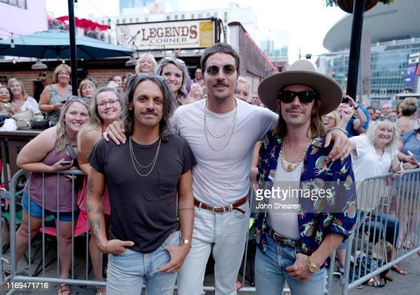Midland attends the 13th Annual ACM Honors at Ryman Auditorium on August 21 2019 in Nashville Tennessee Photo by John Shearer/Getty Images for...