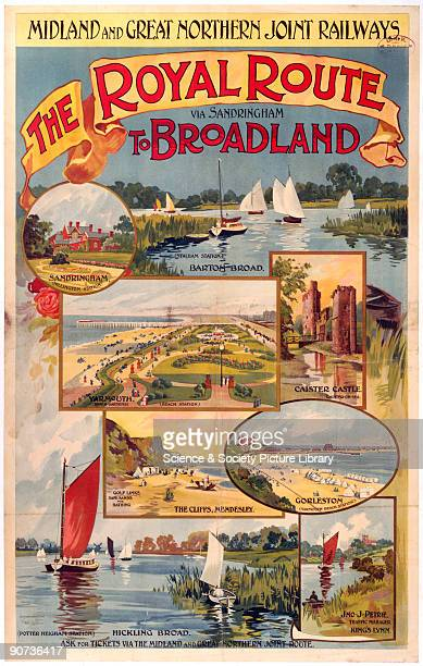 Midland Great Northern Joint Railways poster