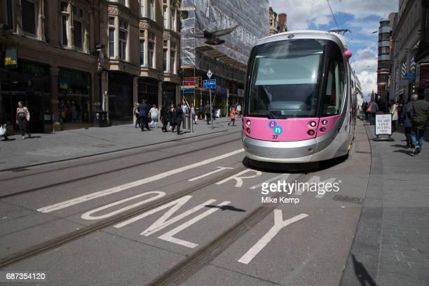 Midland Metro tram public transport system in central Birmingham United Kingdom The Midland Metro is a lightrail tram line in the county of West...