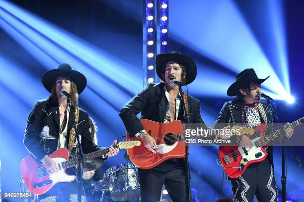 Midland perform at the 53RD ACADEMY OF COUNTRY MUSIC AWARDS live from the MGM Grand Garden Arena in Las Vegas Sunday April 15 2018 at 800 PM ET/PT on...