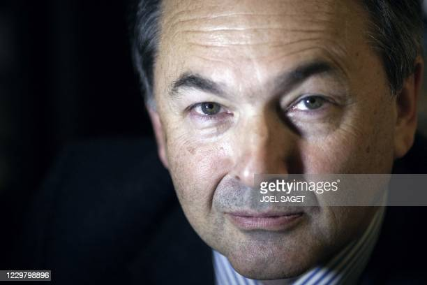 Midlle East specialist and Professor at the Paris Institute of Political Studies Gilles Kepel poses on January 24 2012 in Paris Kepel will release a...
