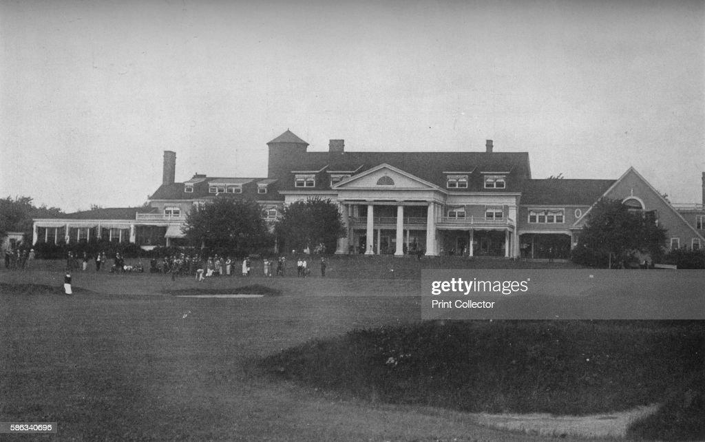 Midlothian Country Club, Chicago, Illinois 1925 : News Photo