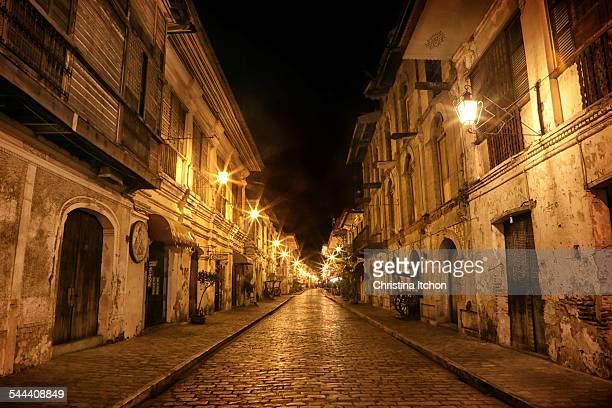 Midnight at Calle Crisologo, Vigan City