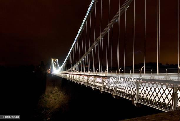 Midnight At Clifton Suspension Bridge