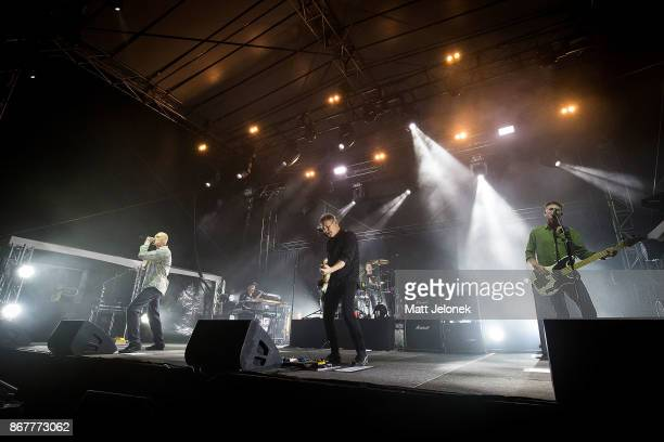 Midnight Oil performs at the Fremantle Arts Centre on October 29 2017 in Fremantle Australia