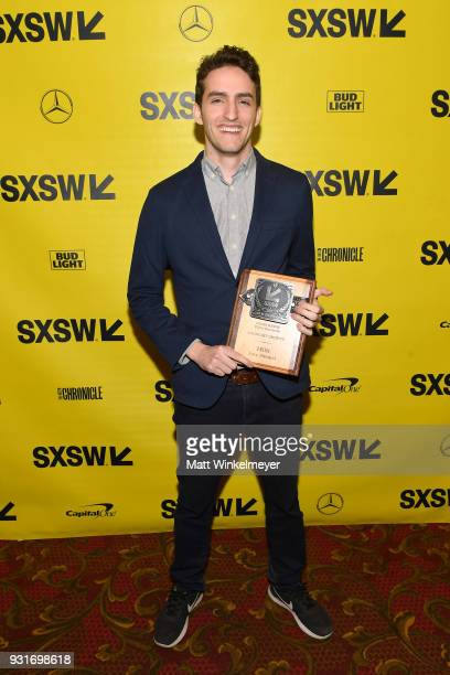 Midnight Shorts Award winner for Milk Santiago Menghini attends the SXSW Film Awards Show 2018 SXSW Conference and Festivals at Paramount Theatre on...