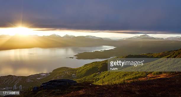 Midnight Sun, Narvik, Norway