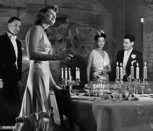 'Midnight Supper', 1938. Plate taken from Plaisir de France .