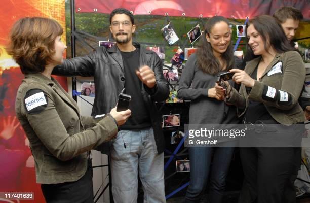 Mido Hamada and Carmen Chaplin with Nokia representatives