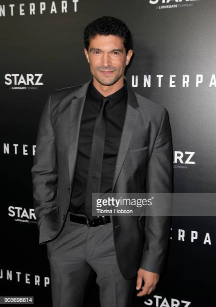 Mido Hamada attends the premiere of Starz's 'Counterpart' at Directors Guild of America on January 10 2018 in Los Angeles California