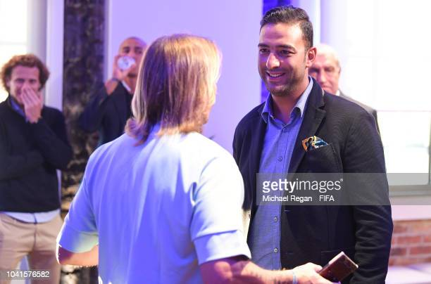 Mido looks on during the Legends Think Tank Meeting prior to The Best FIFA Football Awards at London Marriott Hotel County Hall on September 23 2018...