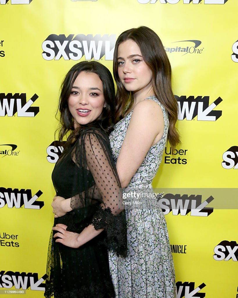 Midori Francis and Molly Gordon attend the premiere of 'Good