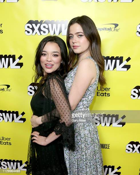Midori Francis and Molly Gordon attend the premiere of 'Good Boys' during the 2019 SXSW Conference and Festivals at the Paramount Theatre on March 11...