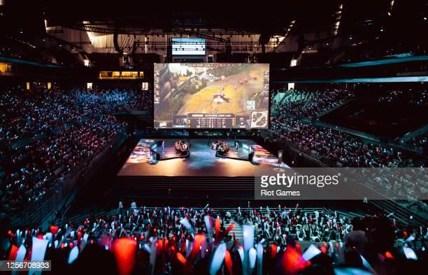 Mid-Season Invitational on May 4, 2016 at the Shanghai Oriental Sports Center in Shanghai, China.