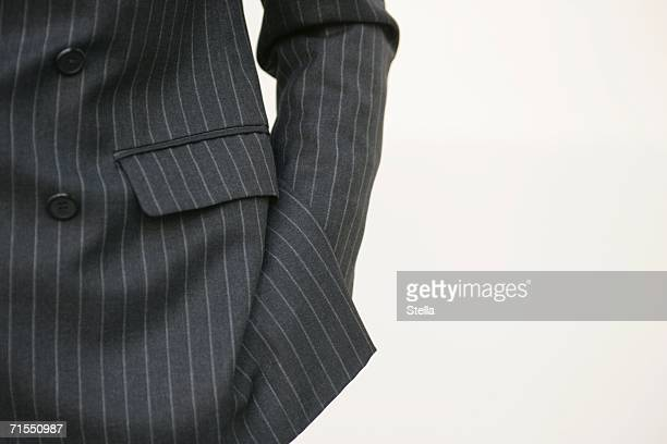 Midsection of a business man