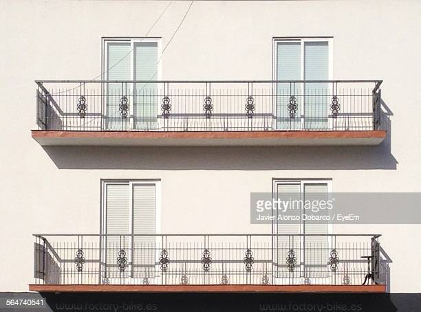 Midsection Of House Balcony