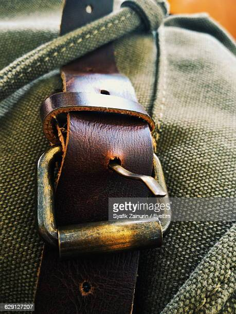 Midsection Of Person Wearing Belt