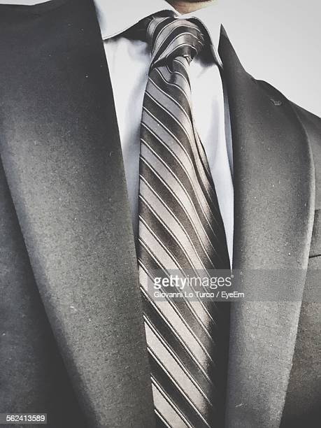Midsection Of Well-Dressed Businessman