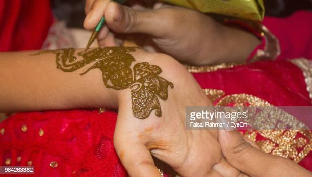 Henna Tattoo Stock Photos And Pictures