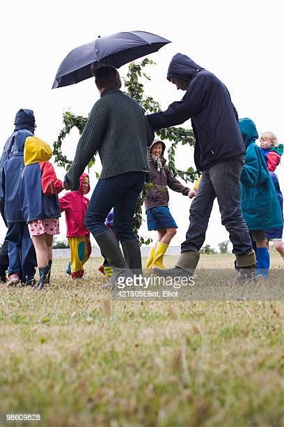 Midsummer celebrations, Sweden.