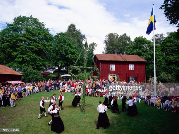 Midsummer Day Celebration in Sweden