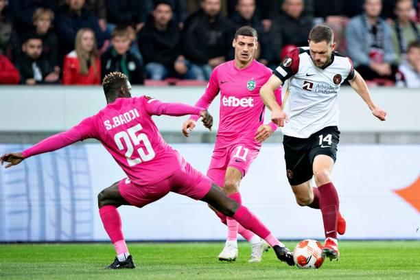 DNK: FC Midtjylland v PFC Ludogorets Razgrad: Group F - UEFA Europa League