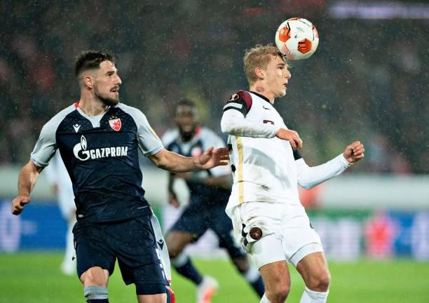 DNK: FC Midtjylland v Crvena Zvezda: Group F - UEFA Europa League