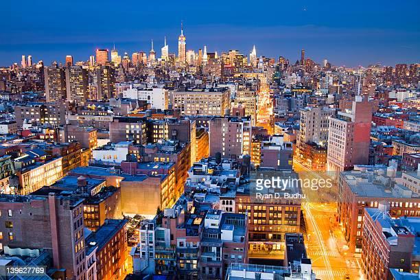 Midtown Manhattan and SoHo