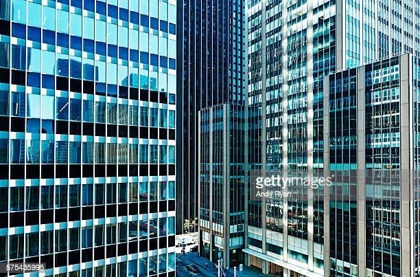 Midtown Manhattan buildings and street.