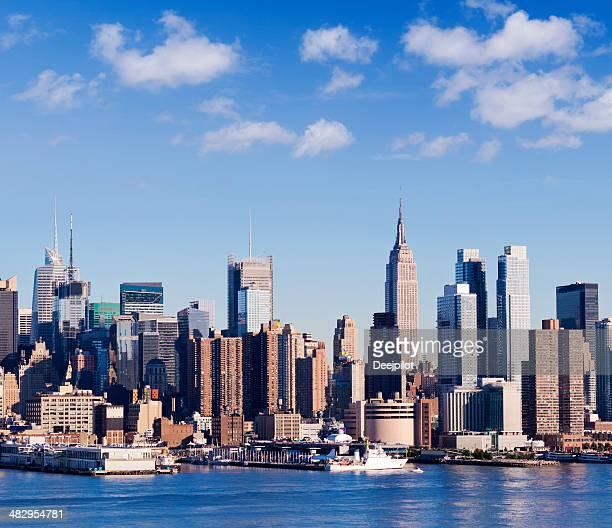 Midtown Manhattan City Skyline New York USA