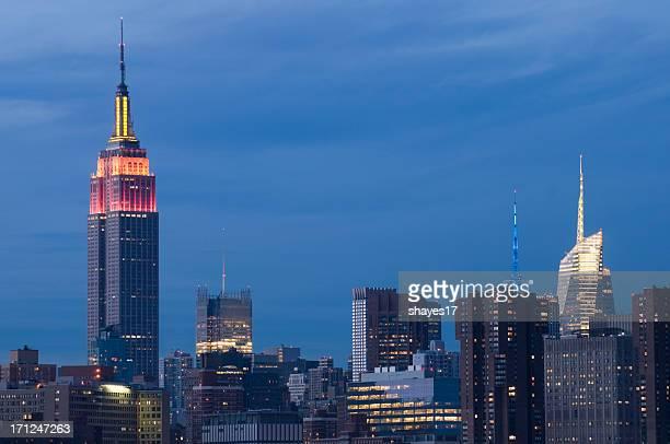 Midtown Manhattan Abend