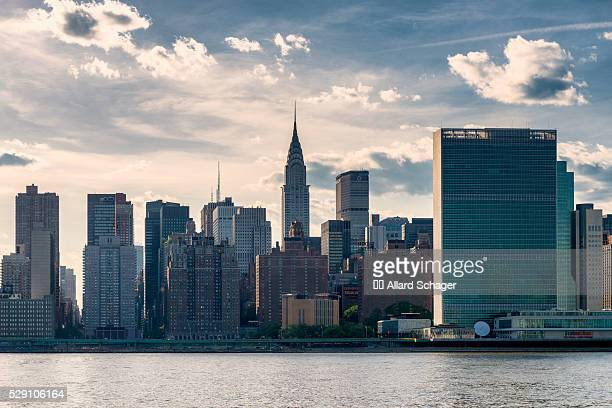 midtown manhattan nyc - united nations building stock pictures, royalty-free photos & images