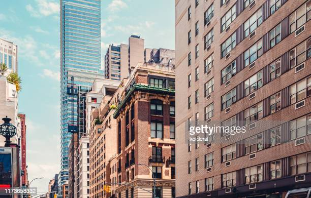 midtown manhattan - sixth avenue stock pictures, royalty-free photos & images