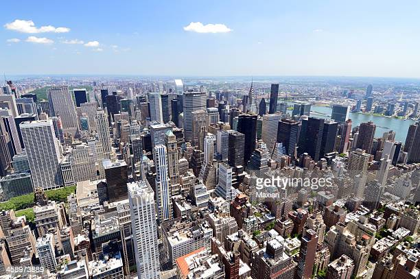 midtown manhattan - metlife building stock pictures, royalty-free photos & images