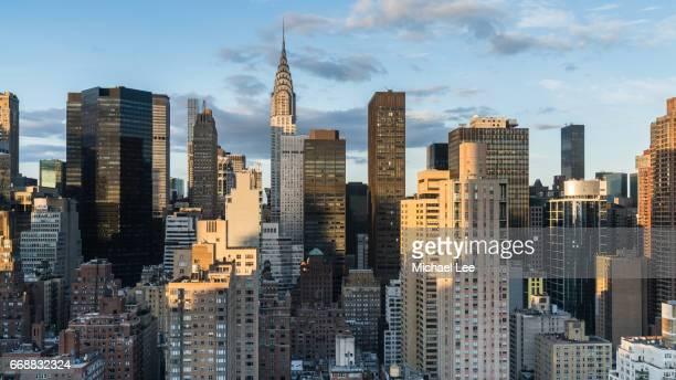 Midtown Sunset Skyline - New York