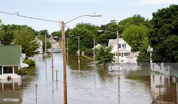 midwest flood - 2008 stock pictures, royalty-free photos & images