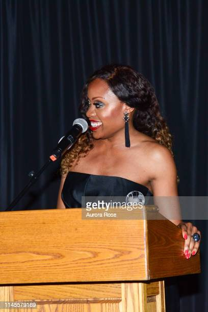 Midwin Charles attends the NOAH NY 10th Anniversary Gala at Brooklyn Botanic Gardens on May 22 2019 in New York City