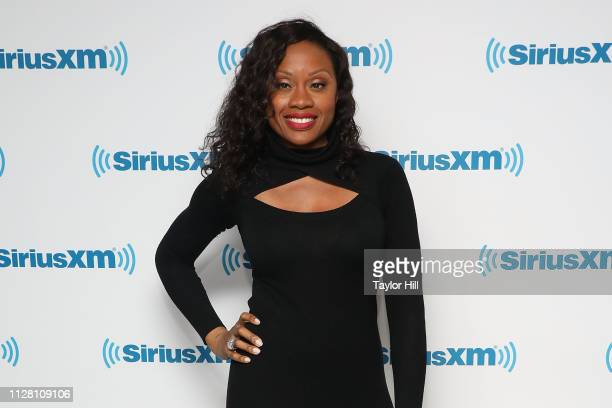 Midwin Charles visits the SiriusXM Studios on February 28 2019 in New York City