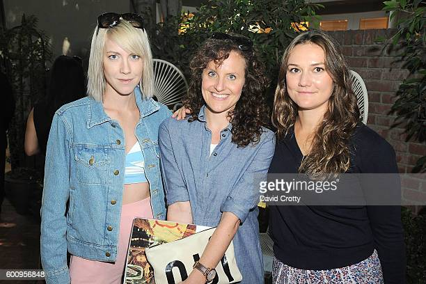 Mieke Marple Meredith Rogers and Alexis Rose attend the Chloe W Magazine and MOCA Private Shopping Event with Maria Bell Sylvia Chivaratanond and...